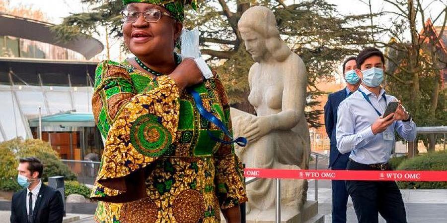 WTO chief Ngozi Okonjo-Iweala. (Photo AP)