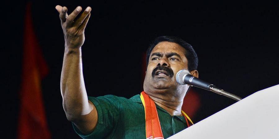 Naam Tamilar Katchi leader Seeman. (Photo | Debadatta Mallick, EPS)