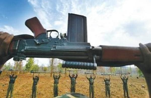 Maoist gunned down by security forcesin Jharkhand