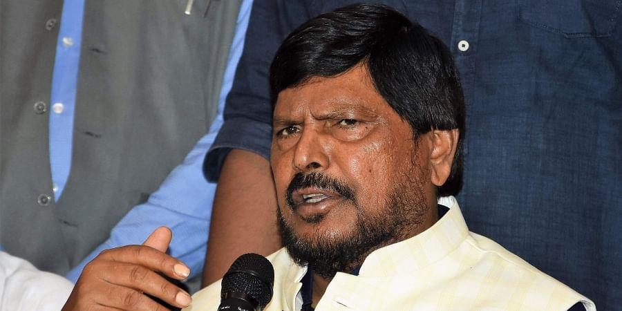 Union Minister Ramdas Athawale