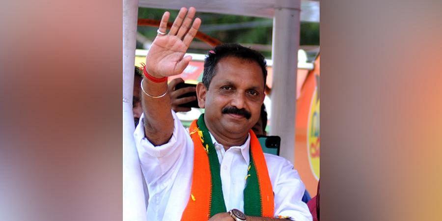 Kerala BJP State President K Surendran. (Photo   A Sanesh, EPS)
