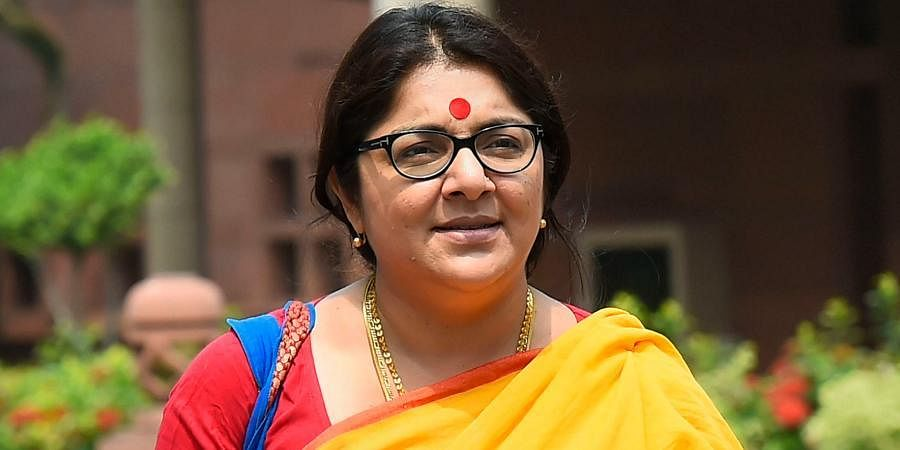 West Bengal BJP MP Locket Chatterjee