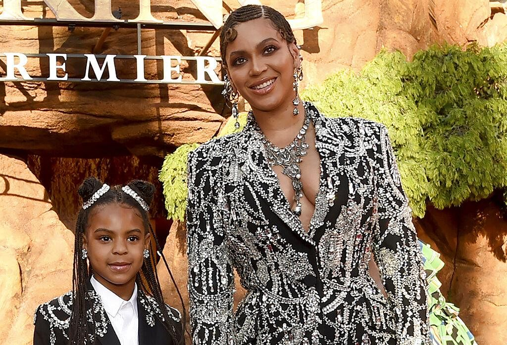 Beyoncé wasn't the only one to make history, her 9-year-old Blue Ivy Carter became the second youngest act to win a Grammy in the show's 63-year history. The mother-daughter duo won 'Best Music Video' for 'Brown Skin Girl'.