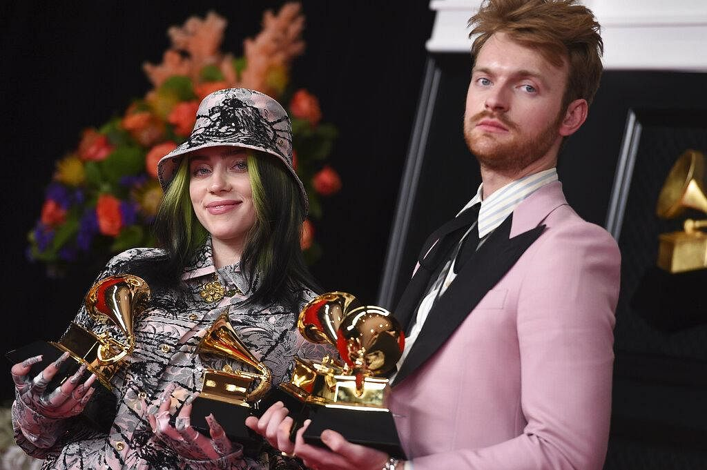 Billie Eilish won 'Record Of The Year' for the second consecutive time with her song 'Everything I Wanted' and also won 'Best Song Written For Visual Media' with brother Finneas at the 63rd annual Grammys