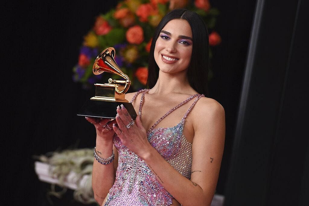 Due Lipa who bagged the award for 'Best Pop Vocal Album' for 'Future Nostalgia' at the 63rd annual Grammy Awards said it was 'amazing to feel the energy' with 'lots of women winning awards'.