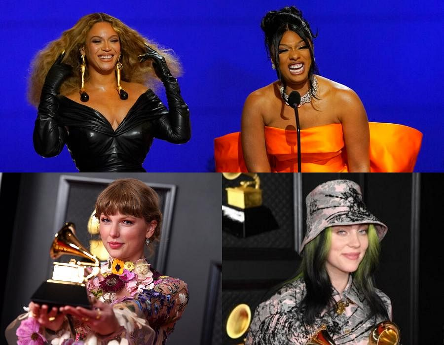 Who runs the Grammys? Women. The 63rd Annual Grammys was a record-making night with four women performers winning the top four prizes and creating history in their own rights as well. Check out some of the important wins from the night.