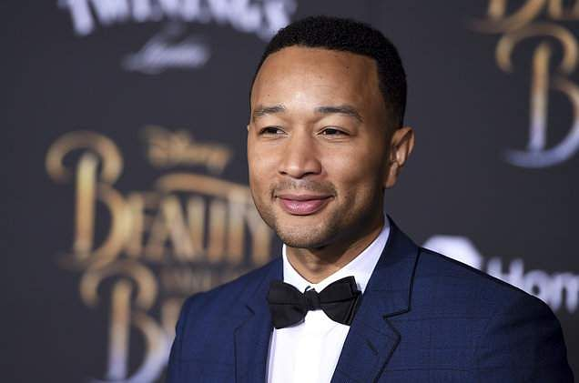John Legend who was not present at the award show, accepted his third overall Grammy Award for 'Best R&B Album' from his kitchen. He won the award for his song 'Bigger Love'.