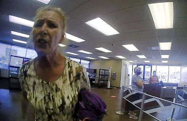 Arrest warrant issued after woman rejects mask at Texas bank- The New Indian Express