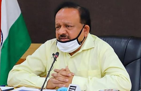 Number of COVID patients requiring critical care, oxygen down from two days ago: Harsh Vardhan