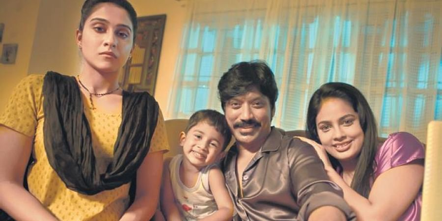 A still from the film, 'Nenjam Marappathillai'.