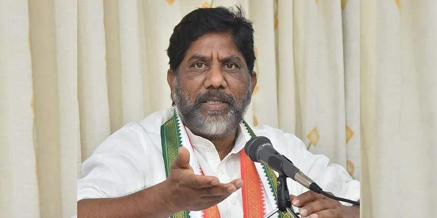 Congress Legislative Party (CLP) leader Mallu Bhatti Vikramarka