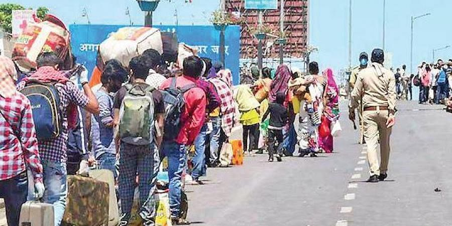 Migrants exodus, Migrants lockdown