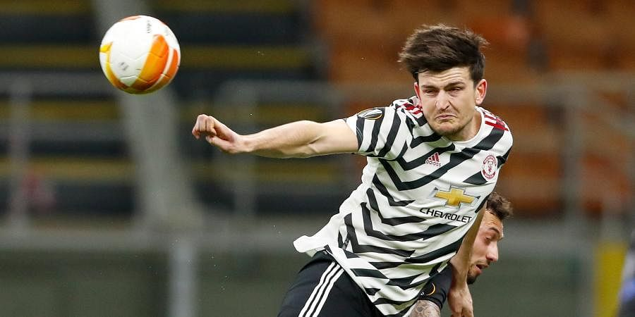 Manchester United centre-back Harry Maguire