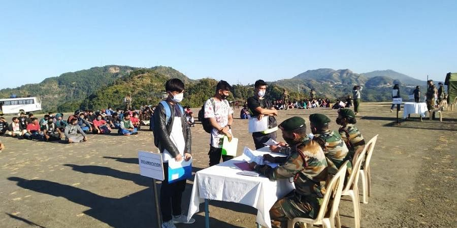 The MNS Pre Guidance six- week capsule is being run by Assam Rifles in cooperation with Mizo Zirlai Pawl (MZP), a local NGO.