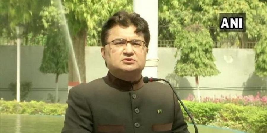 Pakistan High Commission in India charge d'affaires Aftab Hasan Khan