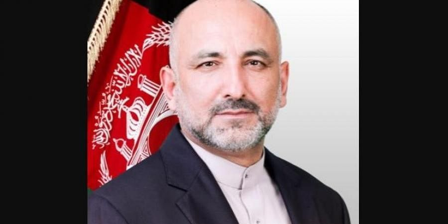 Acting Foreign Minister Mohammed Haneef Atmar