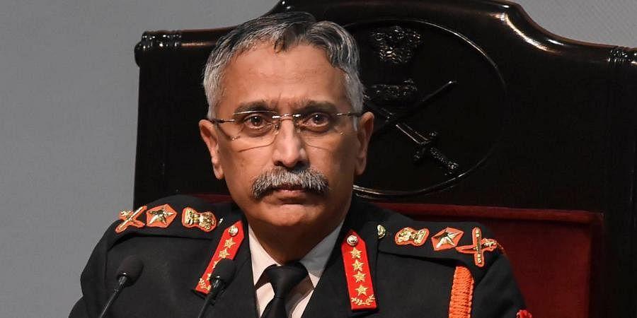Army Chief General MM Naravane