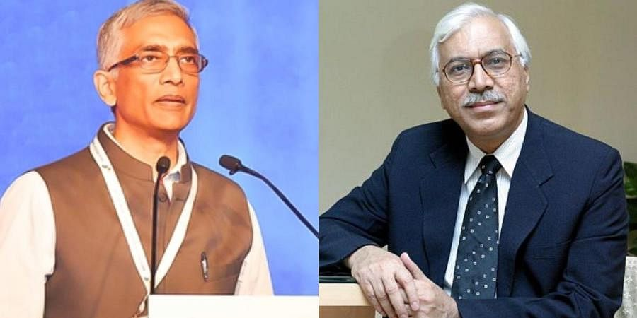 Former Water Secretary Parameswaran Iyer (L) and ex-Chief Election Commissioner SY Quraishi