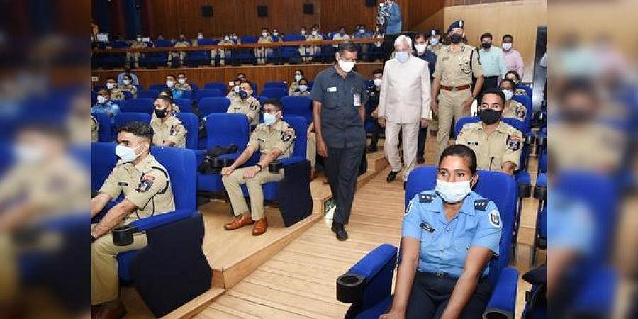 Chief Election Commissioner Sunil Arora visits Sardar Vallabhbhai Patel National Police Academy in Hyderabad