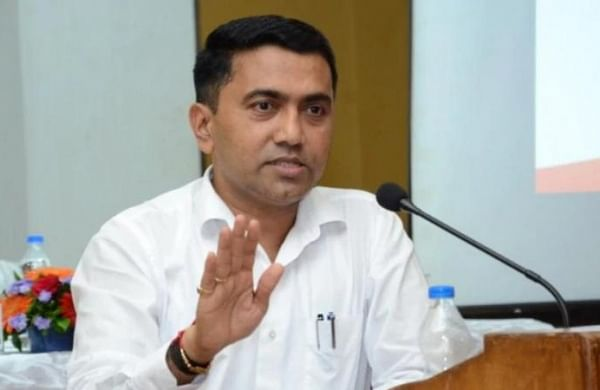 Goa CM Pramod Sawant takes first jab of COVID-19 vaccine