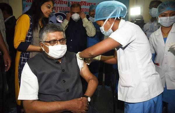 Union Ministers to pay fixed price for Covid shots: Ravi Shankar Prasad