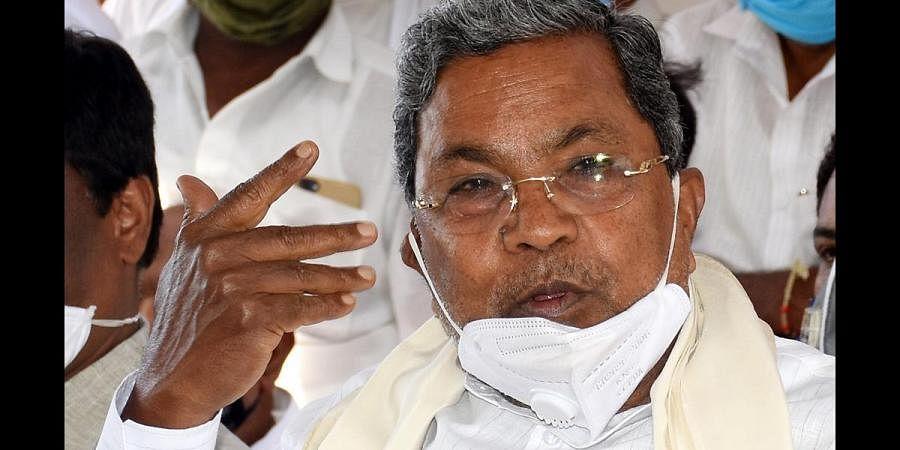 Congress leader Siddaramaiah (File Photo | Udayshankar S, EPS)