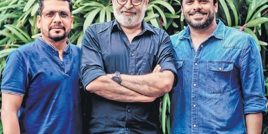 Jay K, Venu and Aashiq Abu