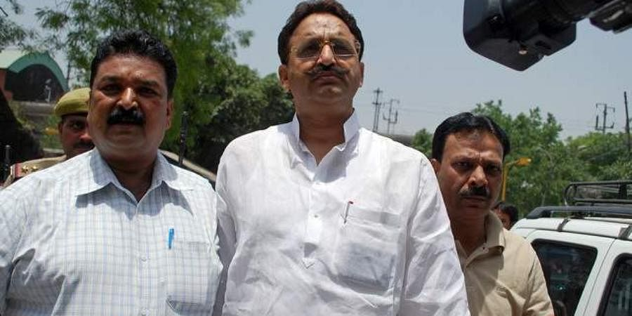 Gangster-turned-politician Mukhtar Ansari