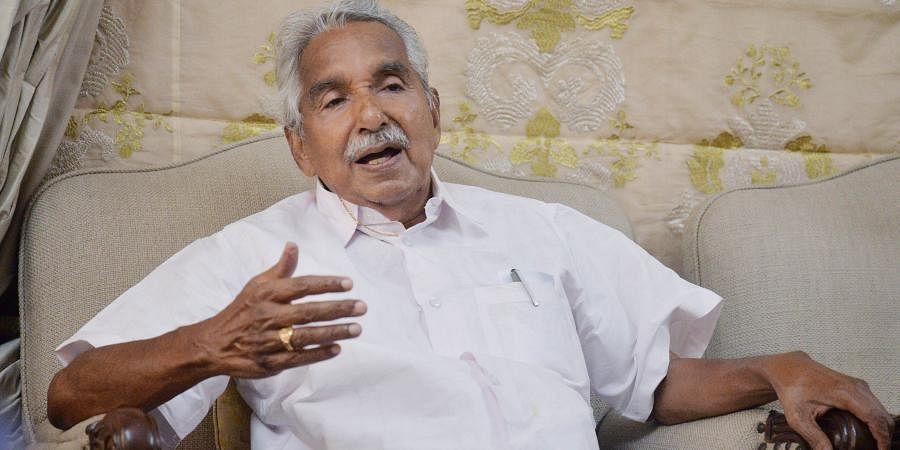 Former Kerala CMOommen Chandy