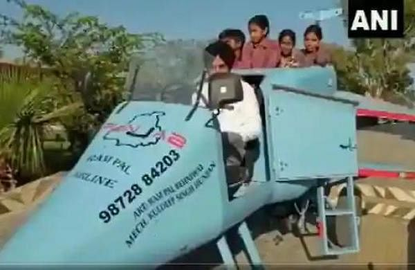 WATCH | Architect builds jet-shaped 'Punjab Rafale' that runs at 20 kmph on roads