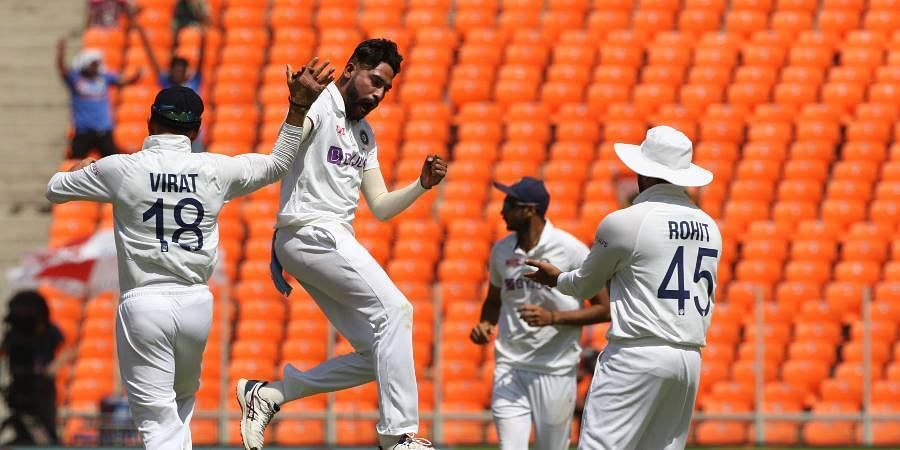 Siraj, who replaced Bumarh, did his part in England's below-par total by setting up the dismissals of Root and Jonny Bairstow