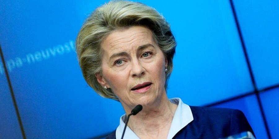 European Union Commission President Ursula von der Leyen