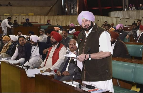 Akali Dal MLAs suspended from Punjab Assembly