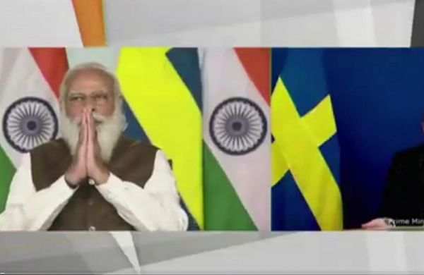 PM Modi pitches for deepening ties with Sweden in tech, research sectors