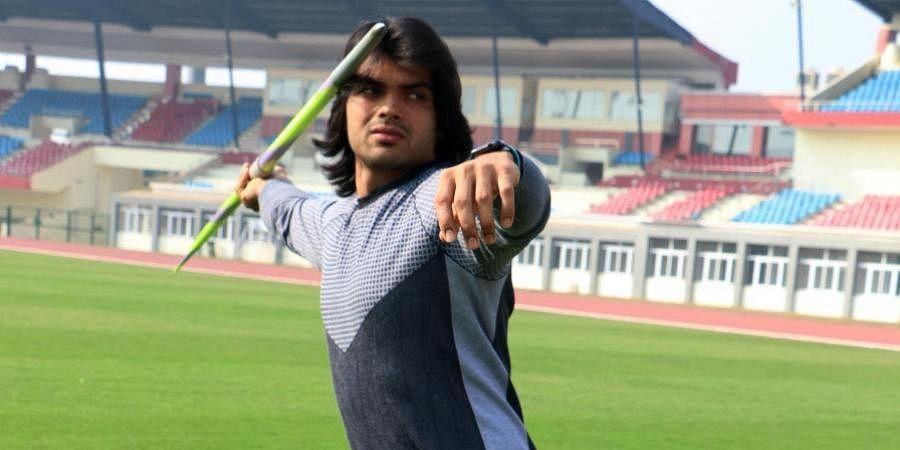 Indian javelin thrower Neeraj Chopra