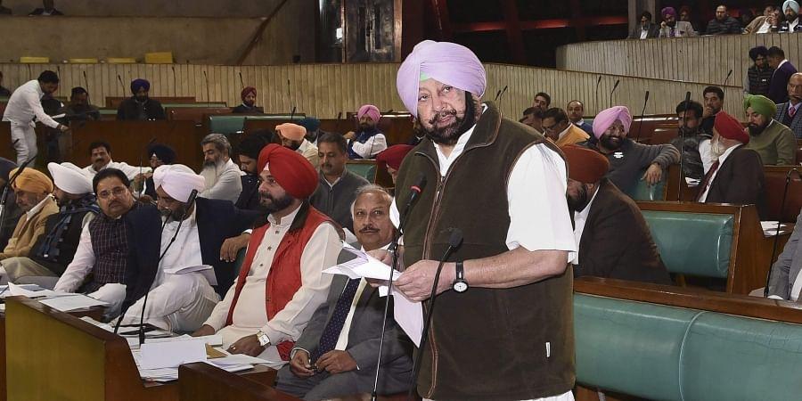 Punjab Assembly, Captain Amarinder Singh