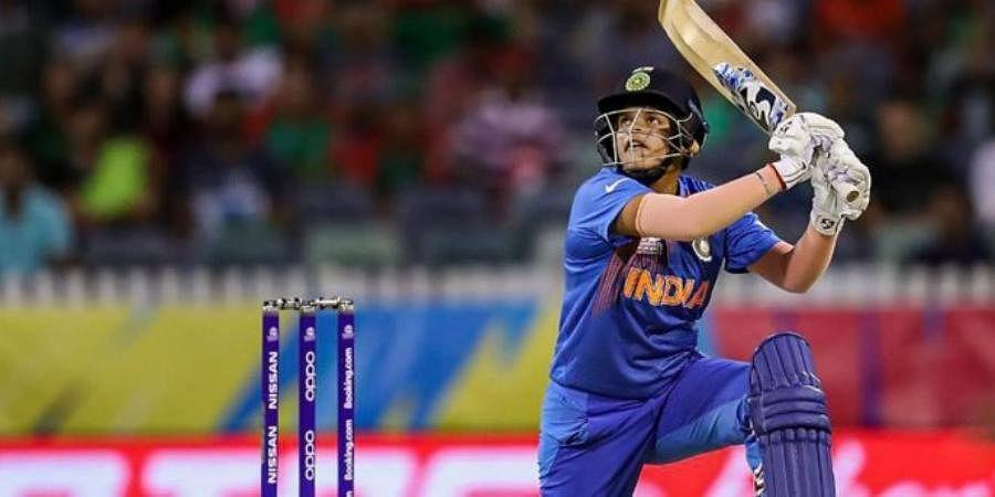 Indian cricketer Shafali Verma