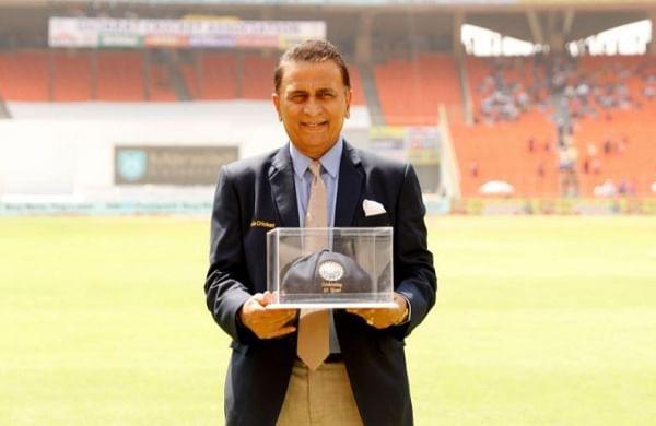 Sunil Gavaskarfelicitated by BCCI on 50th anniversary of Test debut