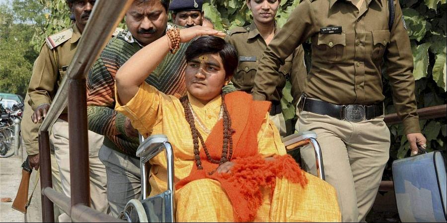 BJP MP Pragya Thakur.   (File   PTI)
