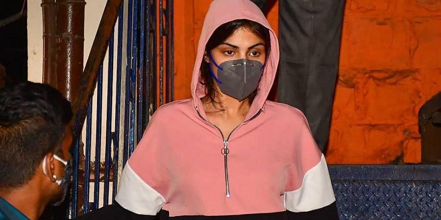 Bollywood actress Rhea Chakraborty (Photo | PTI)