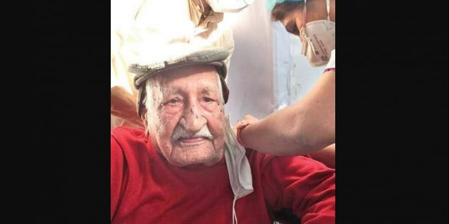At the age of 104, Chawla leads an active life and does not suffer from any major comorbidities.