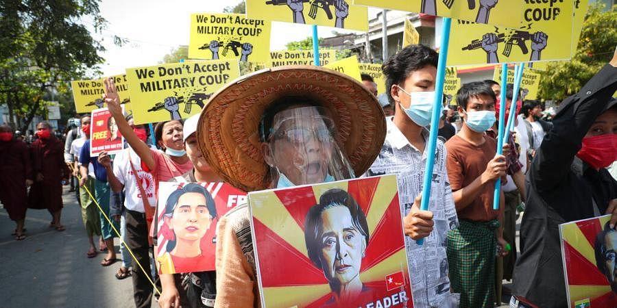 Myanmar democracy protests