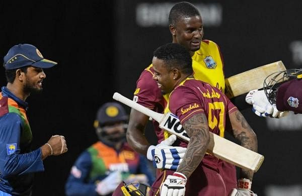 West Indies beat Sri Lanka by three wickets, take lead in T20 series by 2-1