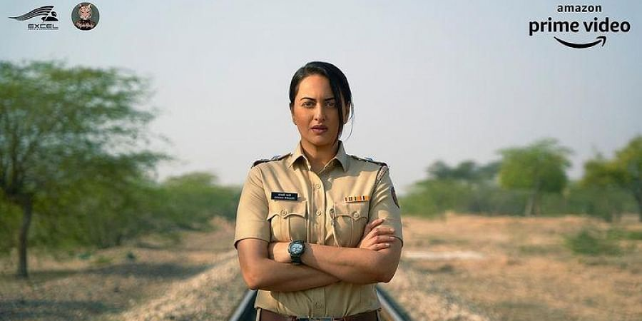 Sonakshi Sinha clad in a police uniform for a new role.