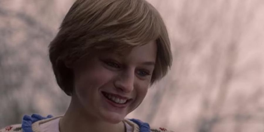 Actress Emma Corrin as Princess Diana in a still from Netflix's 'The Crown' (Photo   YouTube screengrab)