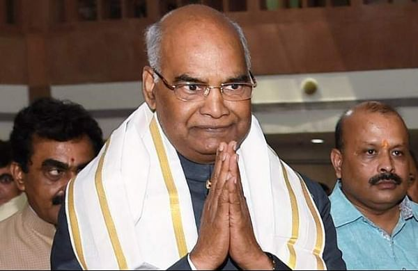 President Ram Nath Kovind embarks on train journey to visit birthplace in UP