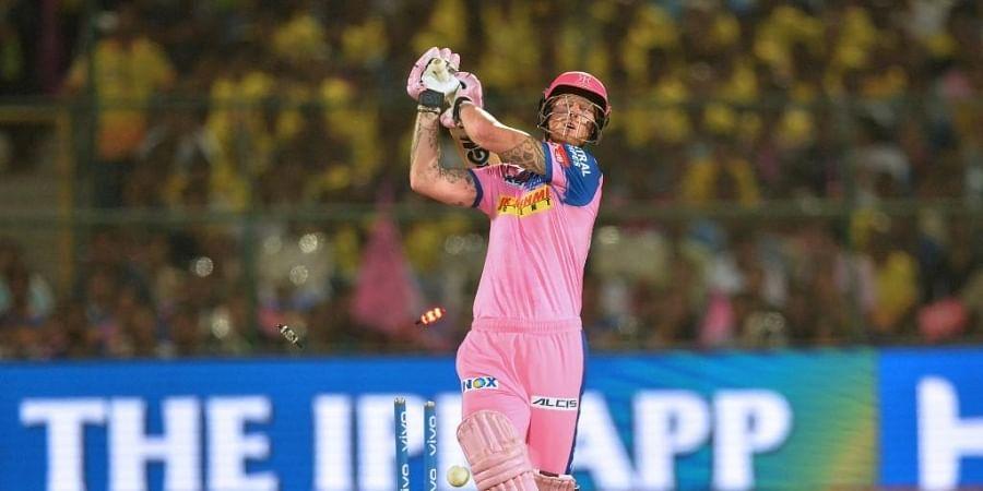 Rajasthan Royals cricketer Ben Stokes. (Photo   AFP)