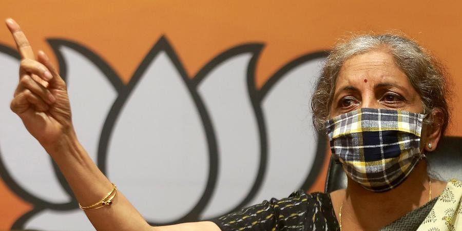 UnionFinance Minister Nirmala Sitharaman