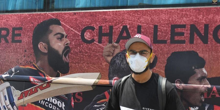 RCB captain Virat Kohli in Chennai.