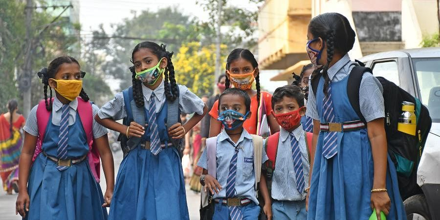 Andhra Pradesh school students